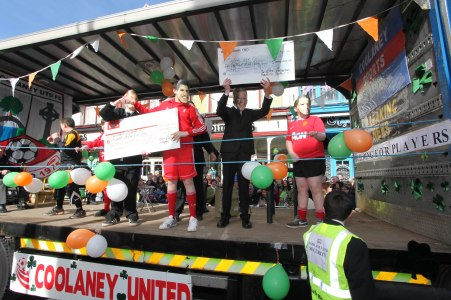 Coolaney Utd float