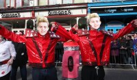 Jedward as depicted by Youthreach.