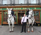 Mounted Gardai David Earley and RIchard Owens with Joe Grogan (Hargadons).