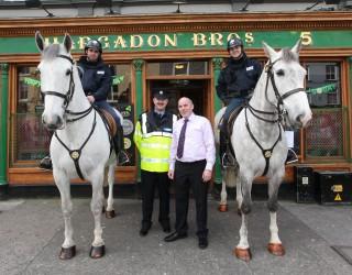 Mounted gardai, Moylan, Grogan