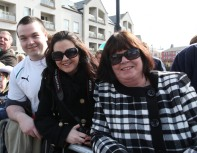 The Ní Críodáns were at the St Patricks Day Parade.