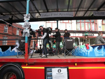 Sligo film Academy float