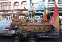 straw boat